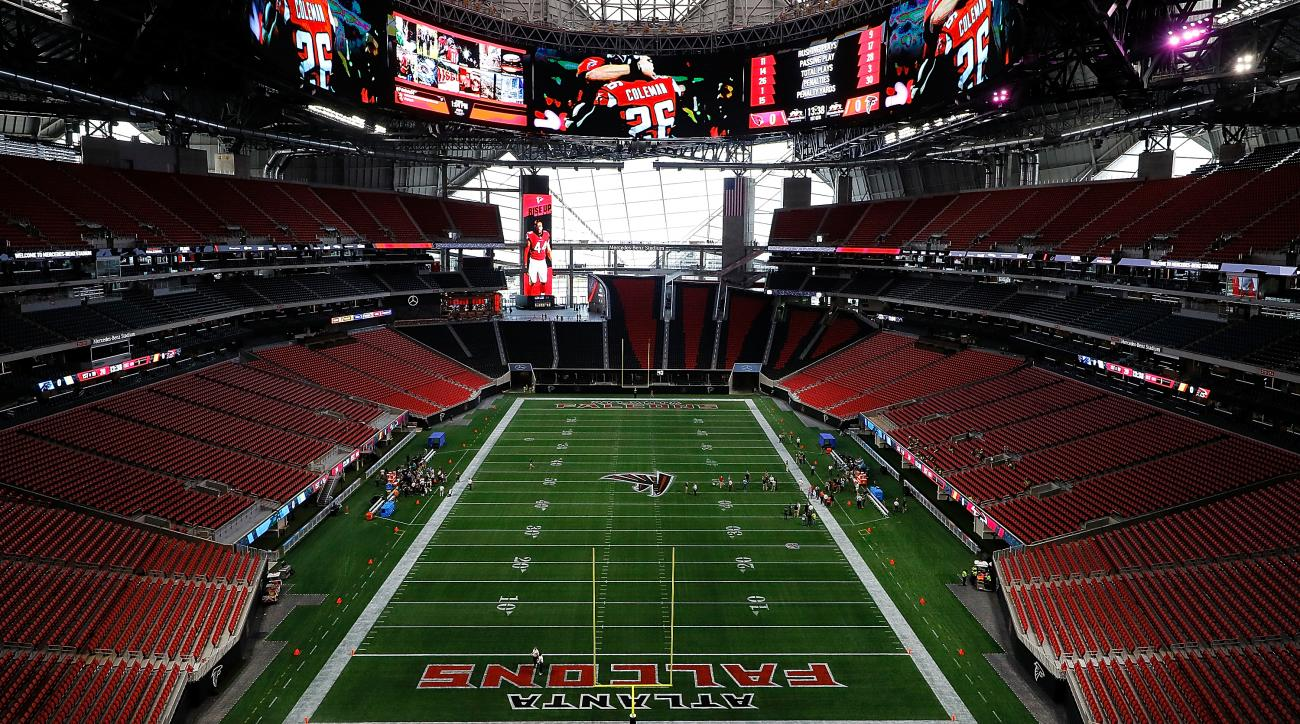 Mercedes-Benz Stadium opens for season ticket holders ahead of first game