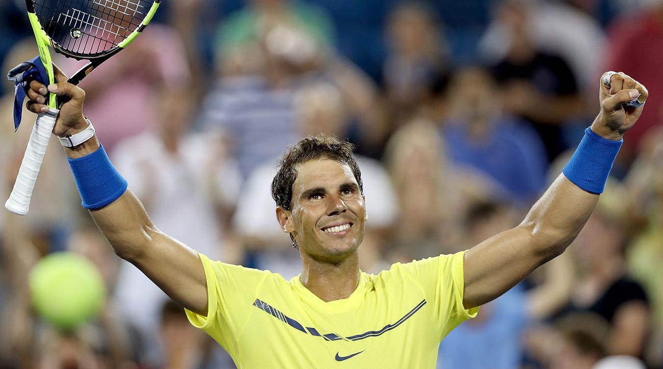 Nadal, Pliskova advance at Cincinnati on day of upsets