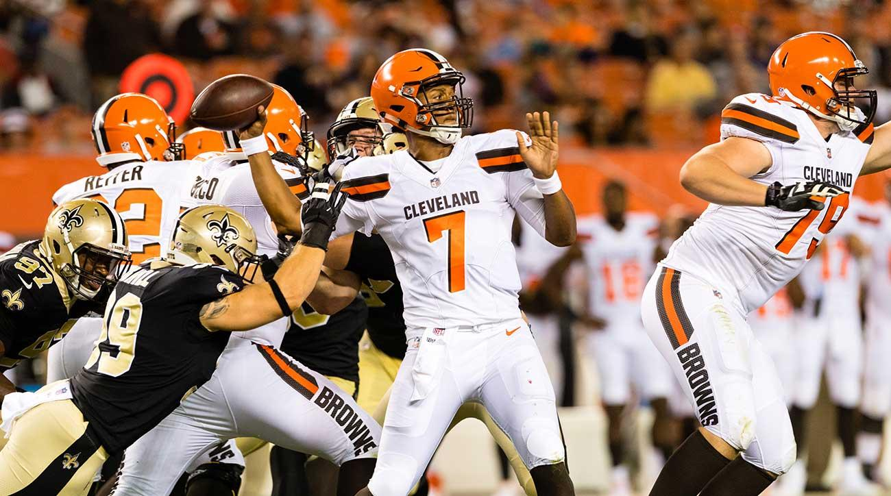 DeShone Kizer looks to light it up again for the Browns in Week 2.