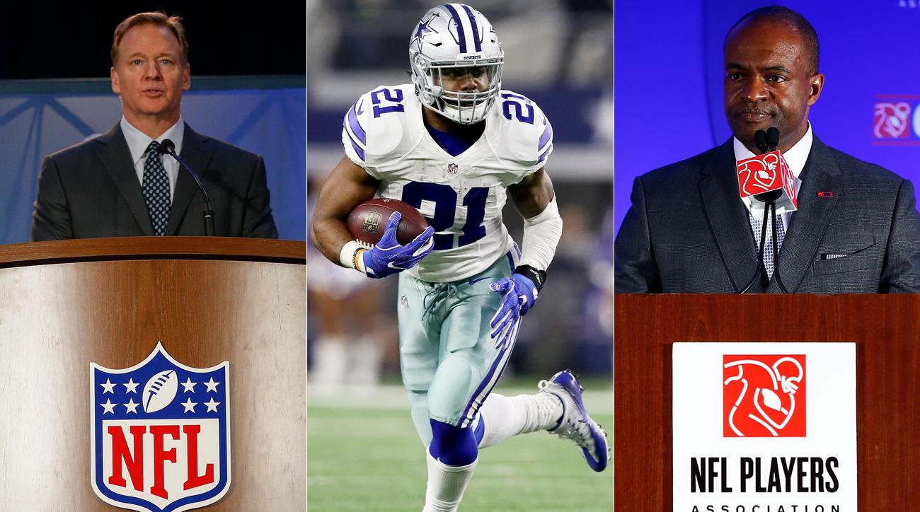 Why has Jerry Jones been quiet about Ezekiel Elliott's suspension?