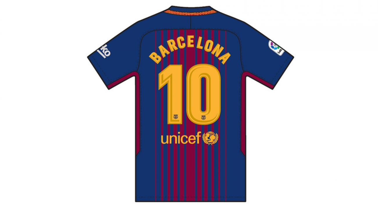Barcelona attack  Barca players plan jersey tribute  ea0d4cf44