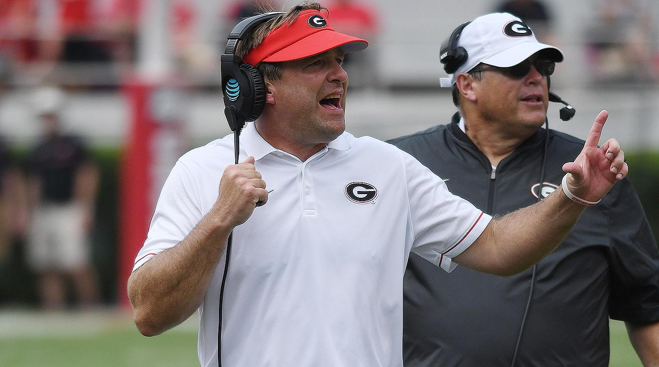 Georgia football in Kirby Smart, Jim Chaney's second year