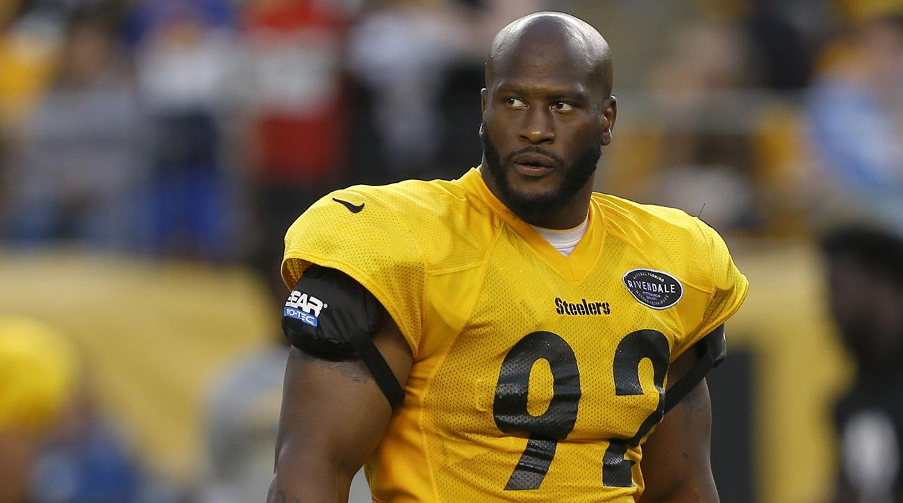 4603e7e72c0 James Harrison  Steelers release former Pro Bowler