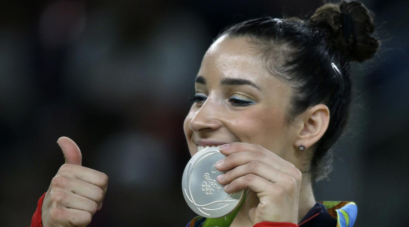 Aly Raisman speaks on USA Gymnastics
