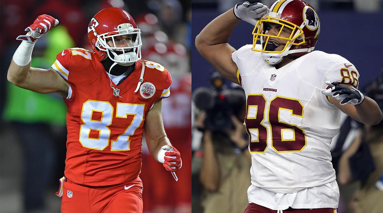 Fantasy Football 2017 Draft Travis Kelce or Jordan Reed