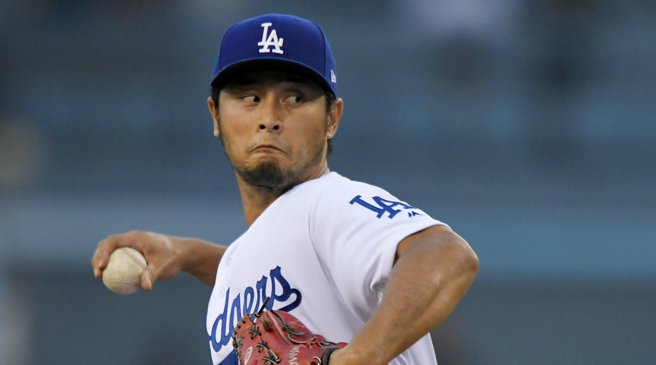 Dodgers place Darvish on 10-day DL