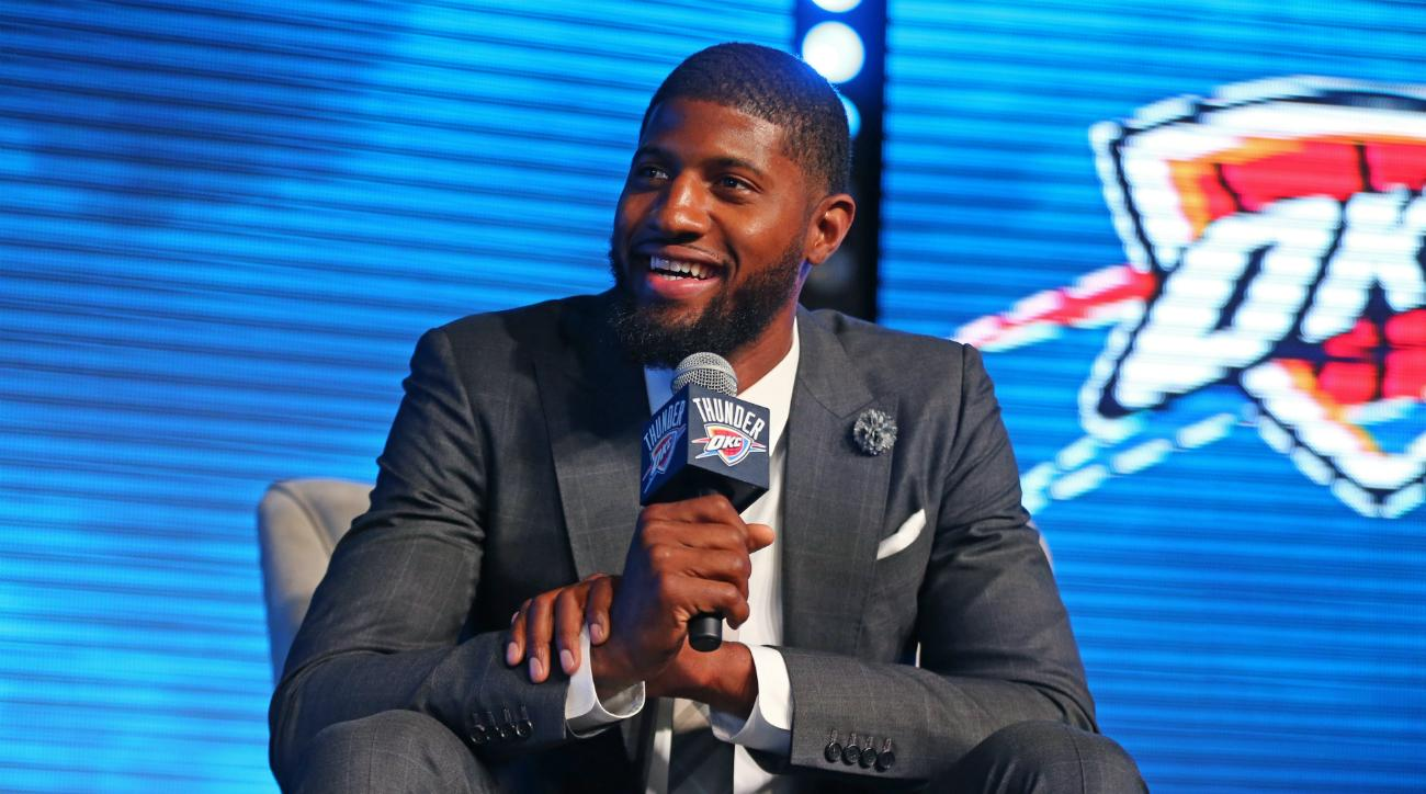 Lakers Tampering Allegation Reportedly Due to Magic Johnson, Paul George Contact