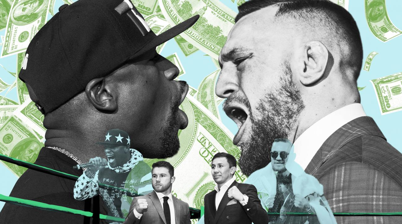 d7eb8534 Mayweather-McGregor: Fans cause a stir at Vegas weigh-in | SI.com