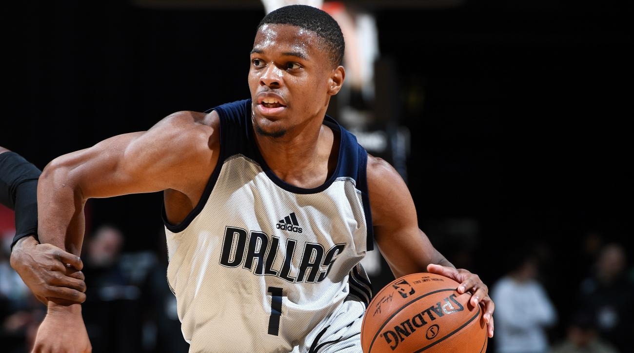 National Basketball Association rookies view Dennis Smith Jr. as ROY favorite, draft's top athlete