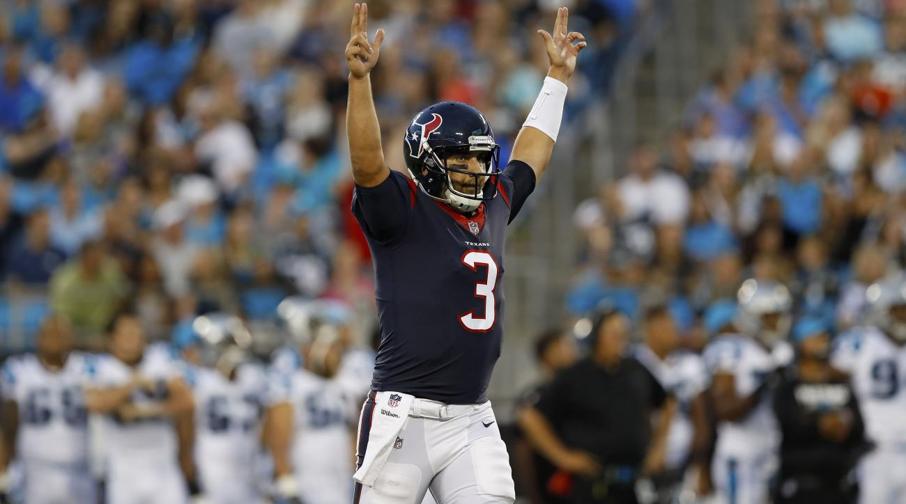 Tom Savage named Texans' starter