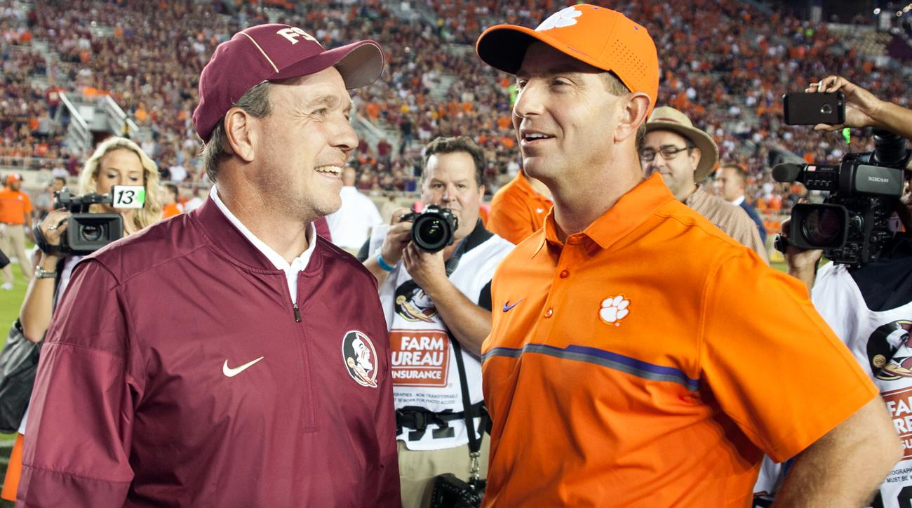 College football playoff scenarios: No Alabama, Two-loss Florida State and more