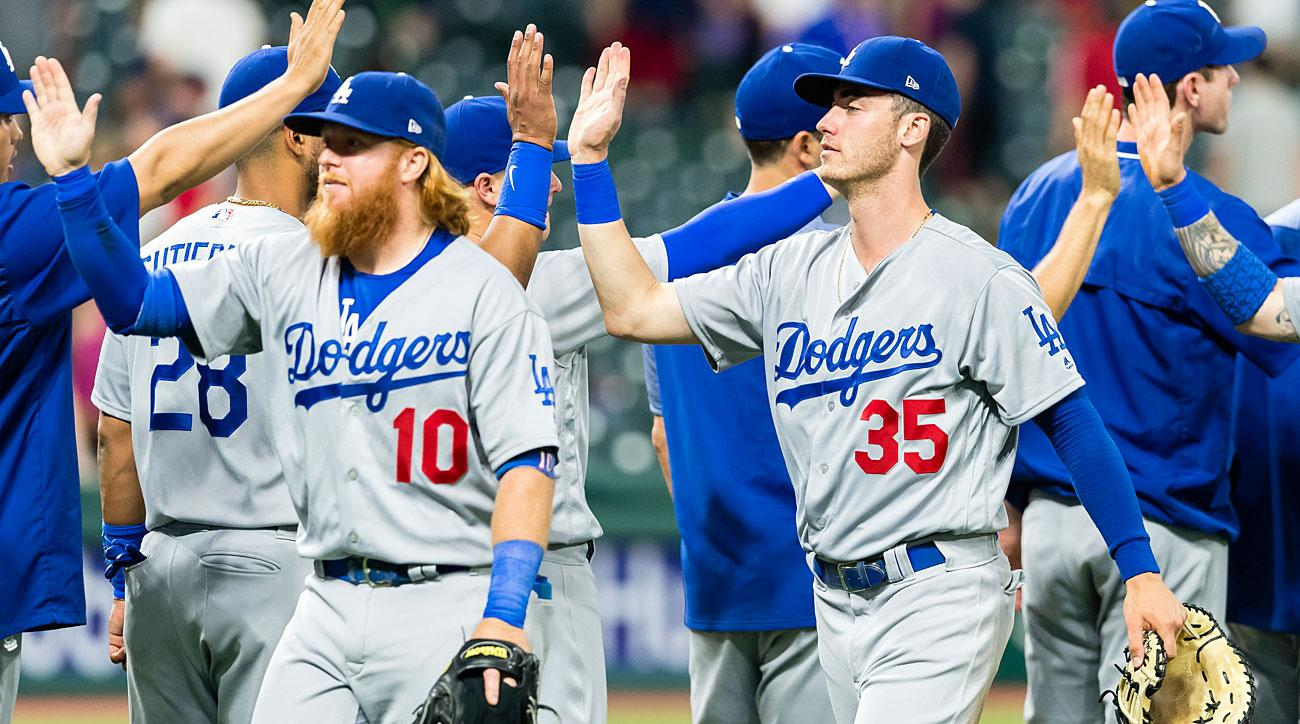 Justin Turner and Clay Bellinger, Los Angeles Dodgers