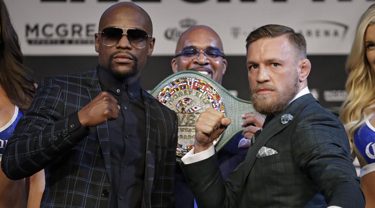 Multiple seven figure bets made on Mayweather