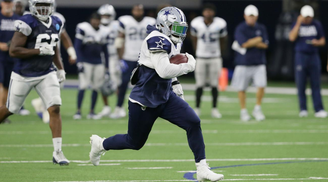 Cowboys RB Elliott slated to attend suspension appeal hearing