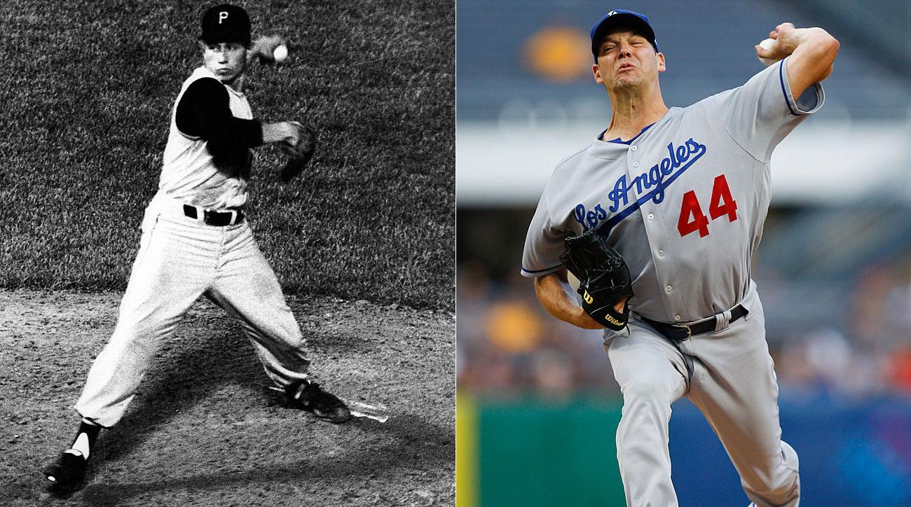 Harvey Haddix, Pittsburgh Pirates; Rich Hill, Los Angeles Dodgers