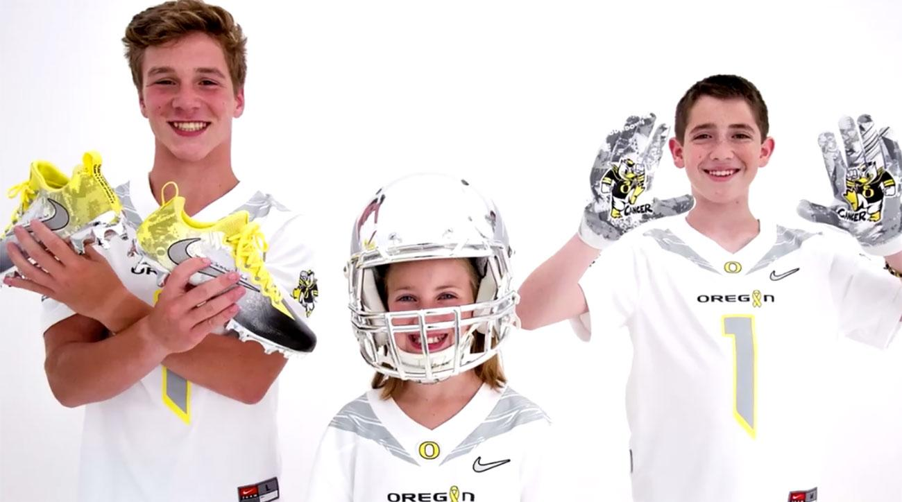 4 cool things about Oregon's 2017 'Stomp Out Cancer' alternate uniforms