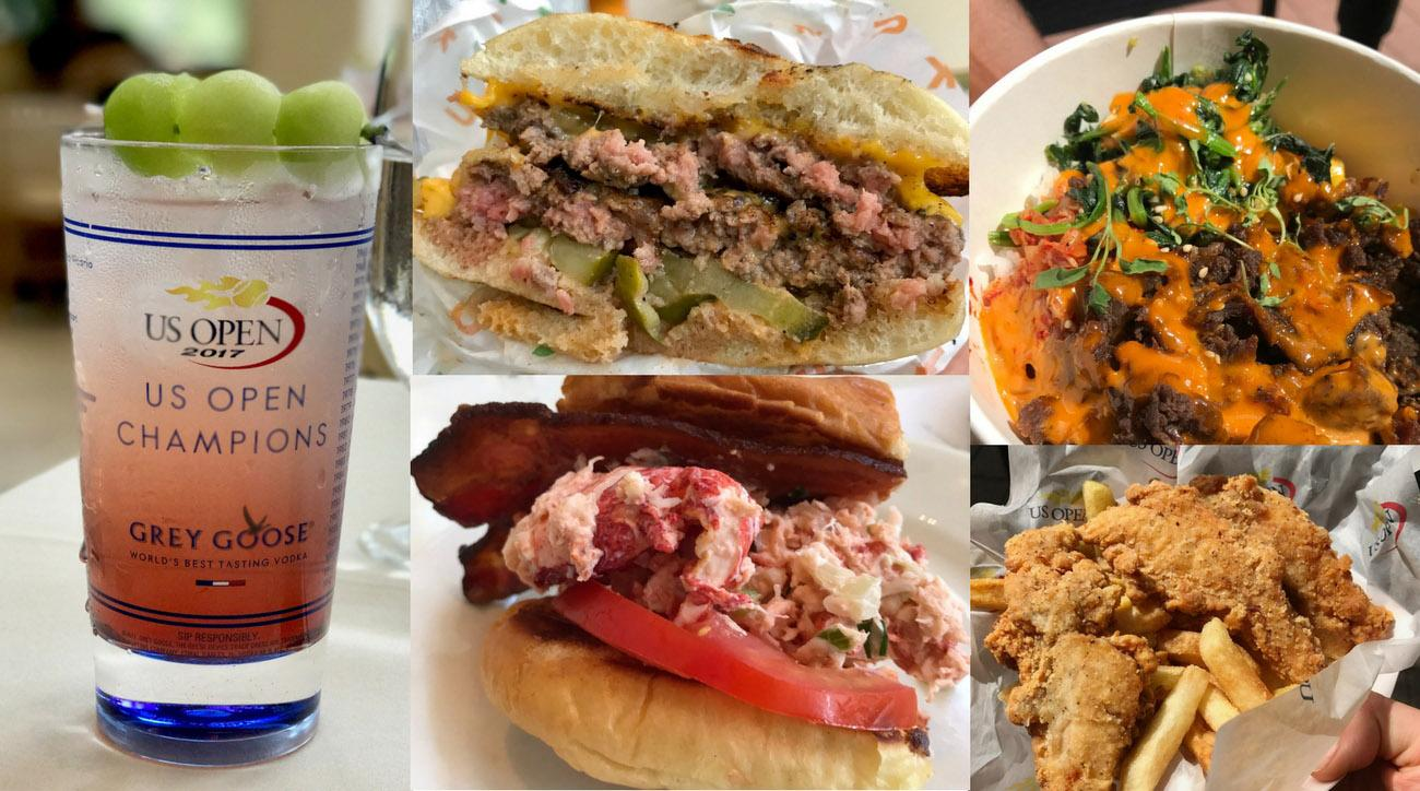 US Open Food Collage