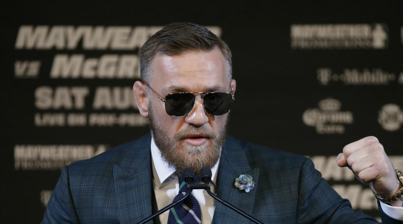 Where is Conor McGregor from?