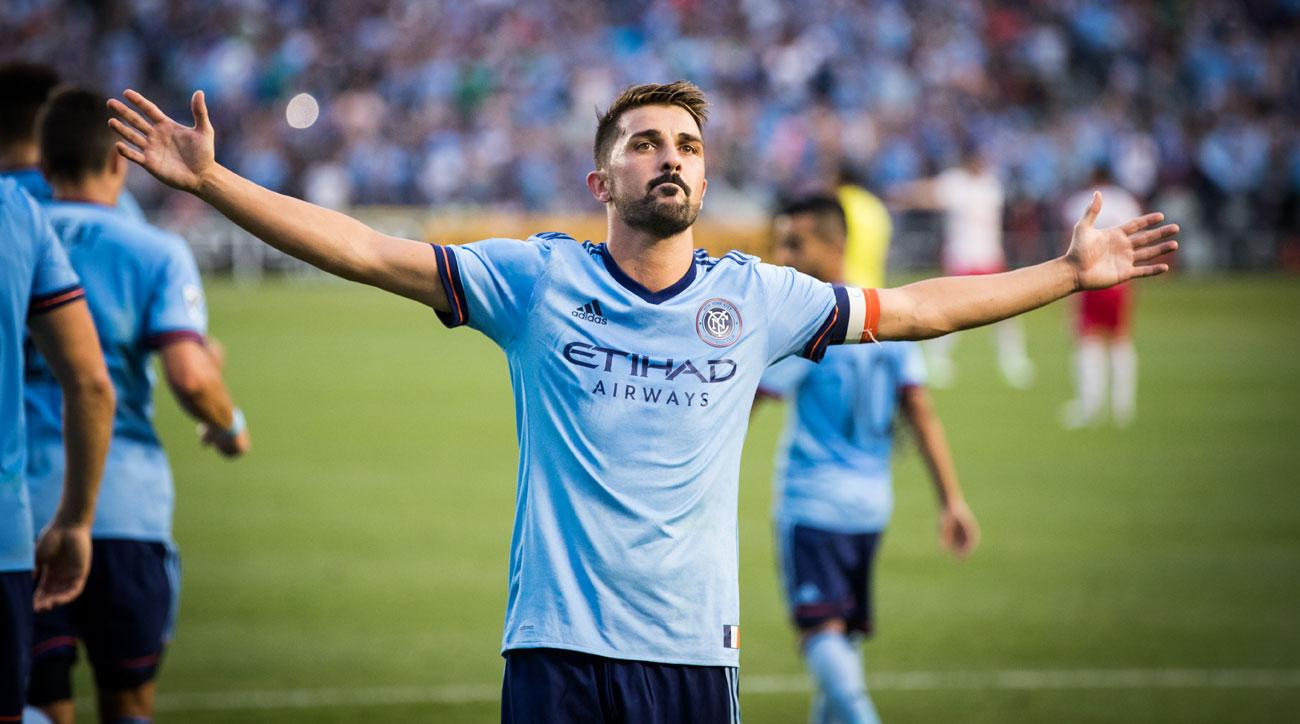 NYCFC's David Villa has been called in by the Spain national team