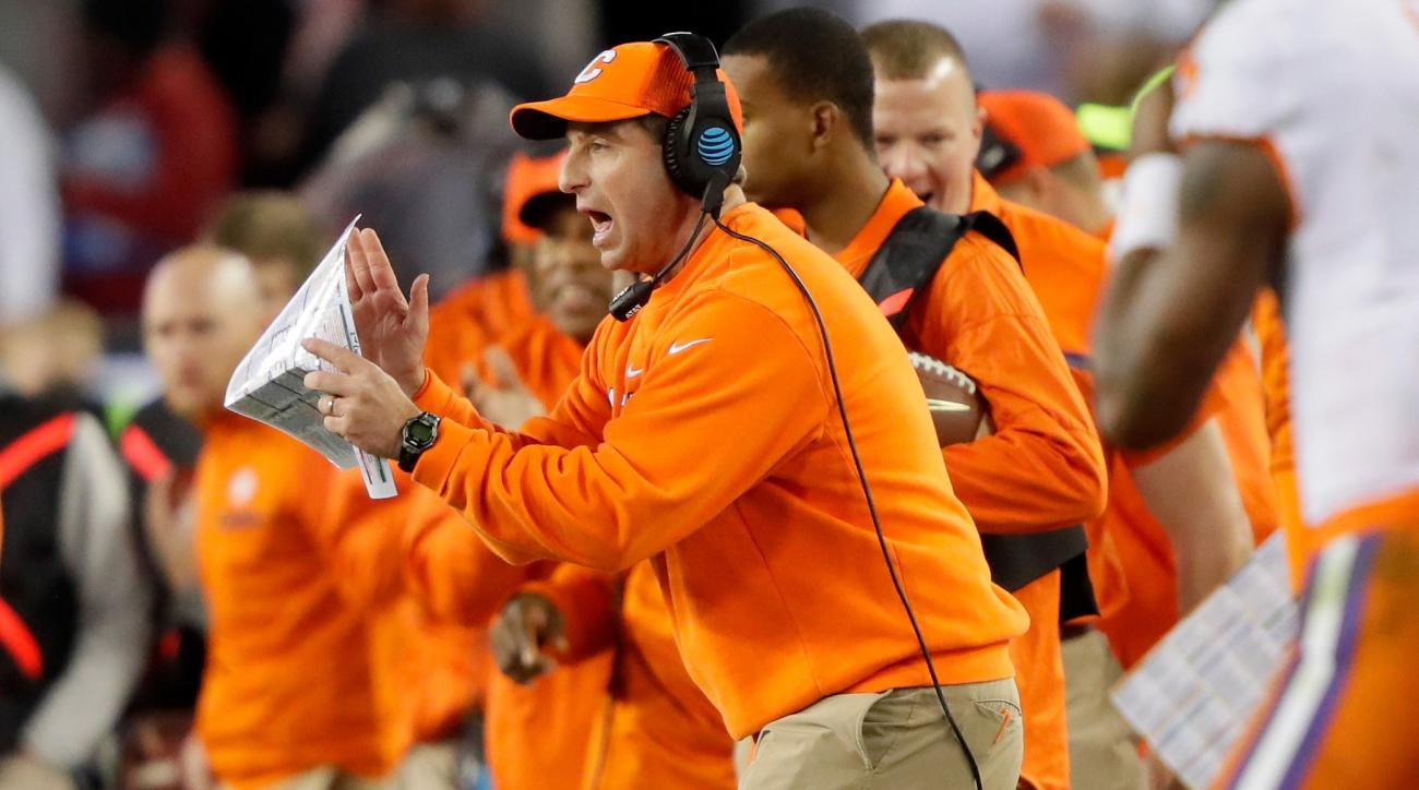 Swinney becomes third-highest-paid coach