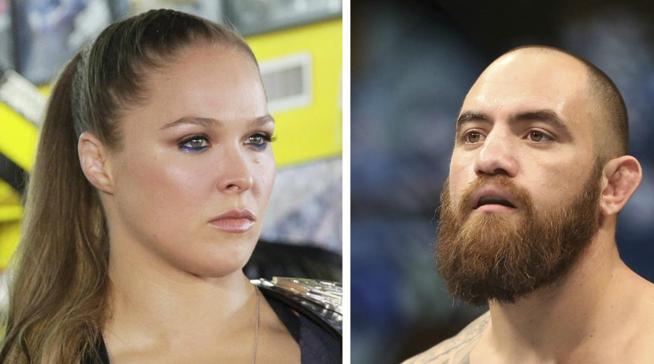 Ronda Rousey will get married on the Mayweather boxing day