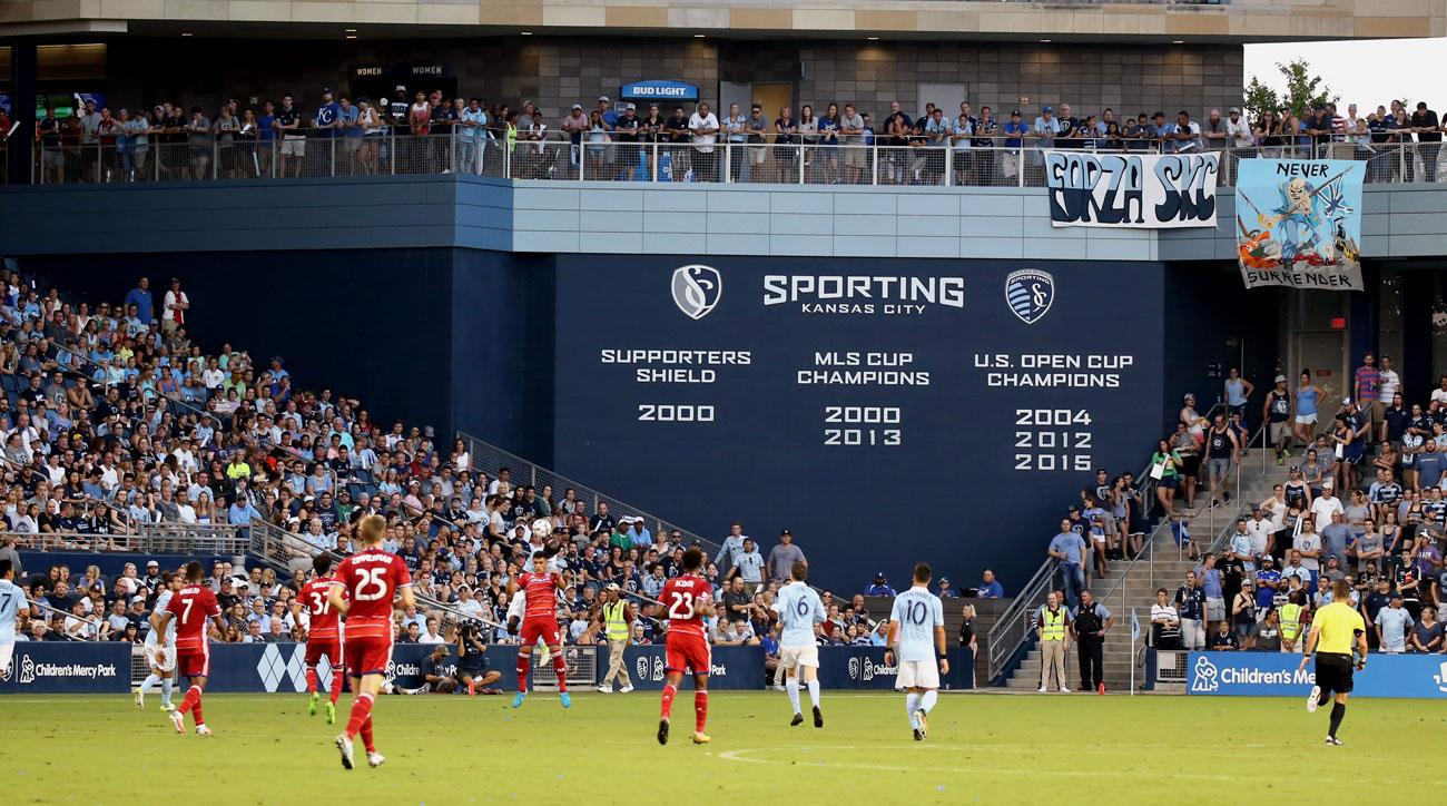 Sporting Kansas City has signed a 15-year-old player