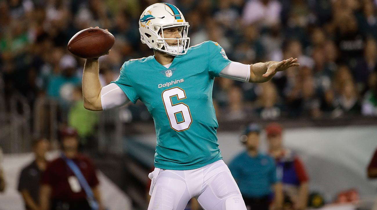 Jay Cutler has thrown 14 passes in two of the Dolphins games this preseason, completing 8 including one touchdown.