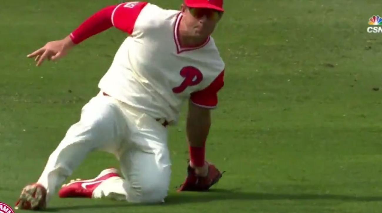 Sacramento-native Rhys Hoskins homers again as Phillies beat Cubs 6-3