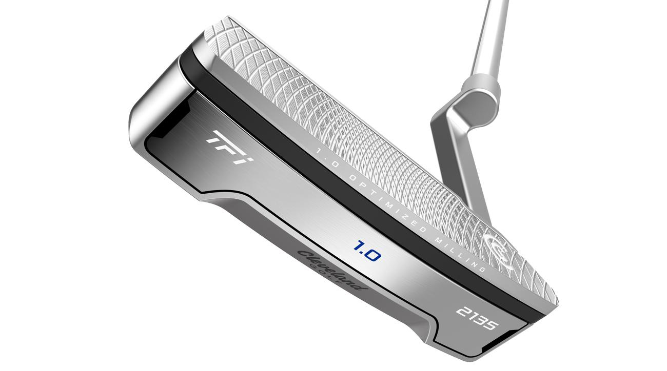 The new Cleveland TFi 2135 Satin 1.0 putter