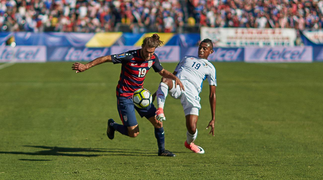 Graham Zusi has transformed into a right back from an attacking midfielder for the USA