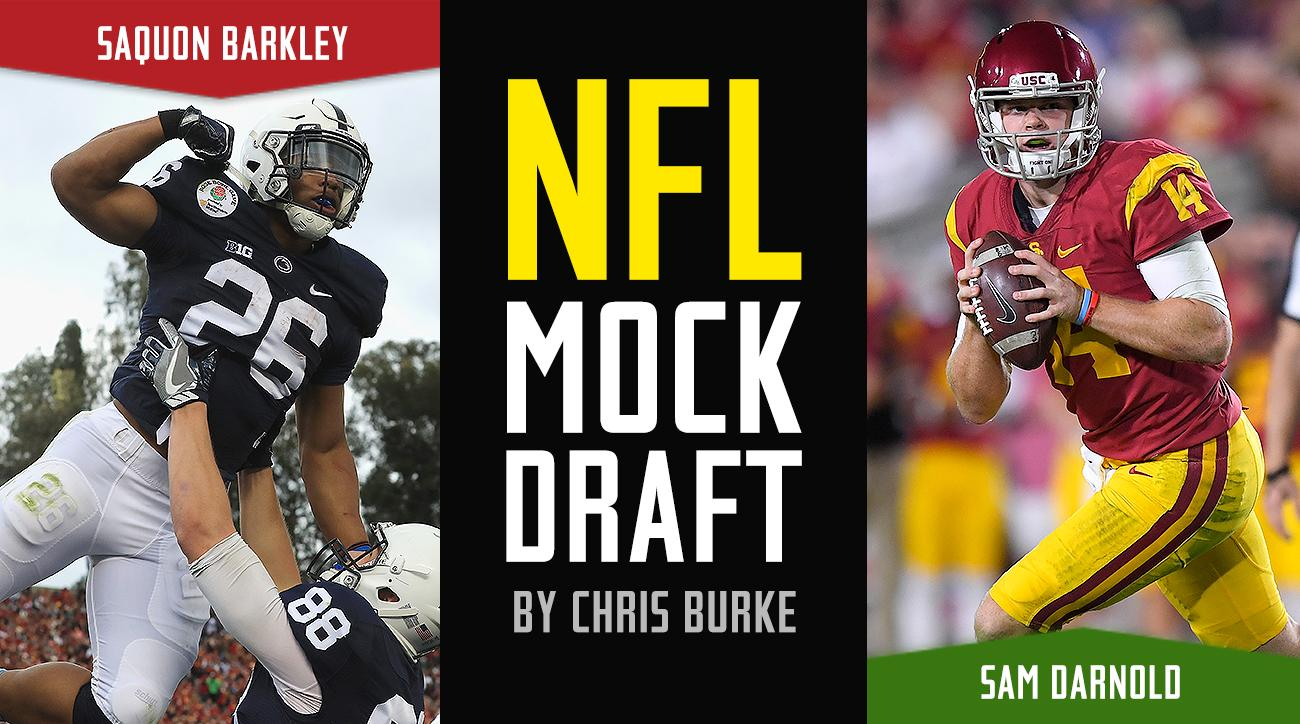 NFL Mock Draft 2018: Sam Darnold, Josh Rosen top first round picks, preseason projections