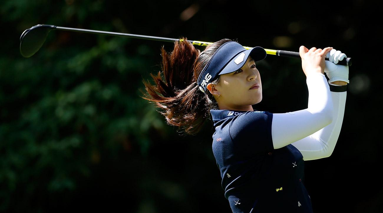 Lewis three clear after three rounds at LPGA in Portland