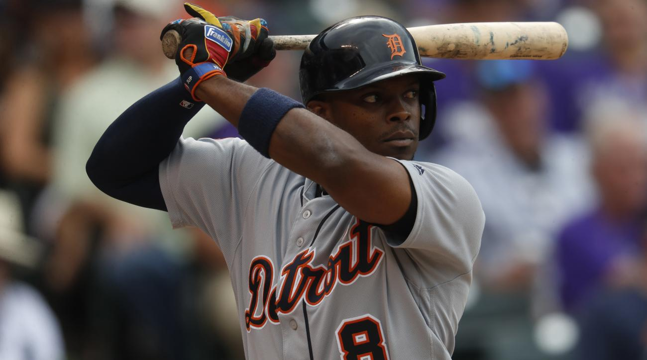 The Angels acquired Justin Upton from the Tigers on Thursday.
