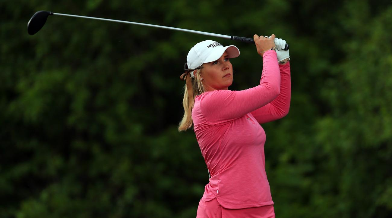 Shannon Fish during the second round of the Manulife LPGA Classic at Whistle Bear Golf Club on June 09, 2017.
