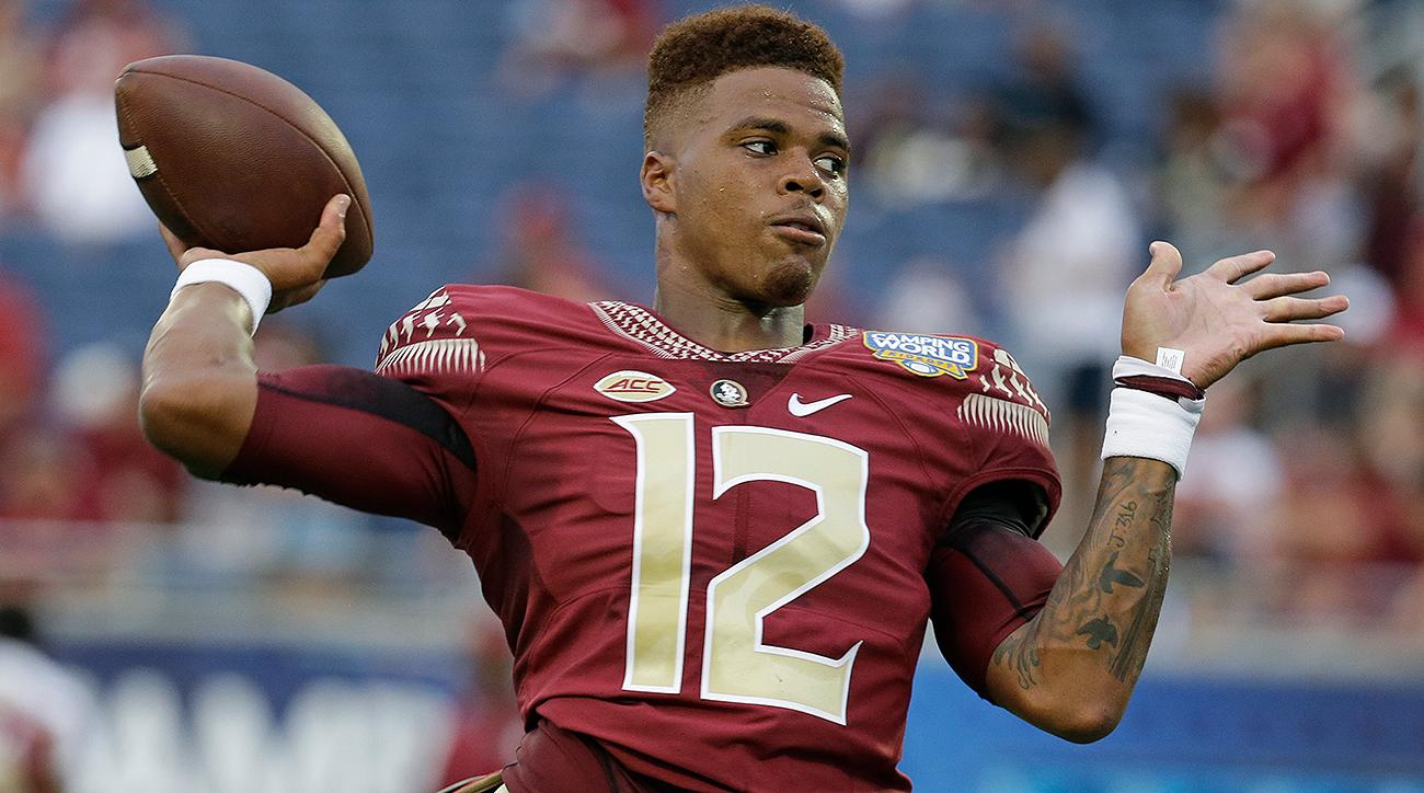 Florida State QB Deondre Francois leaves Alabama game with knee injury