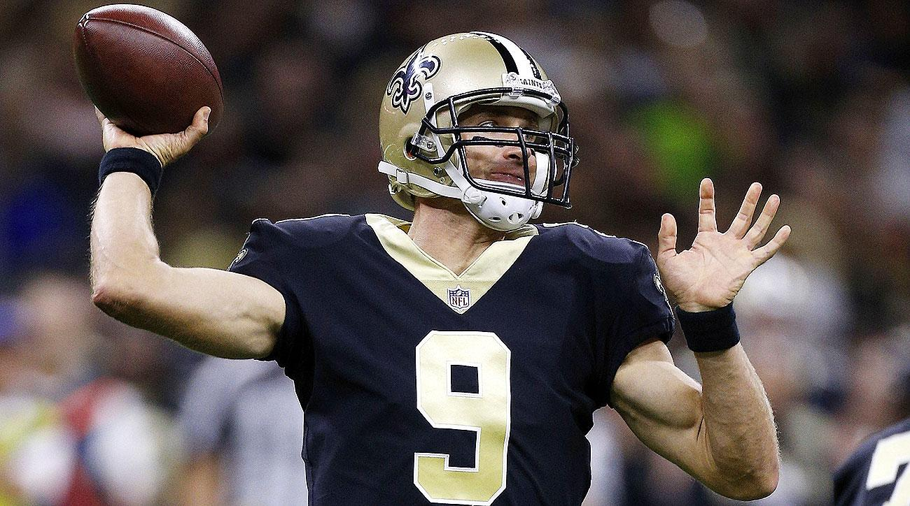 The Saints regularly high implied point totals help make Drew Brees one of the best DFS quarterbacks.