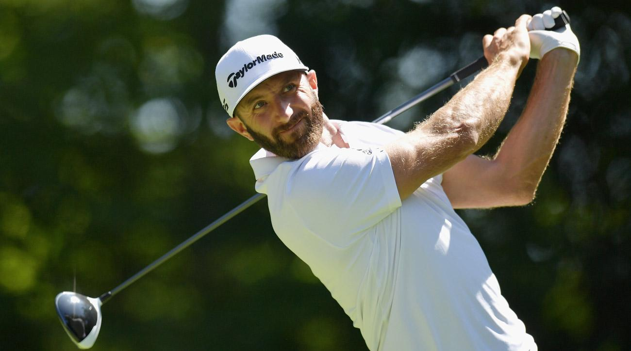 Dustin Johnson looks to be picking up right where he left off in Boston, one week after winning the Northern Trust in New York.