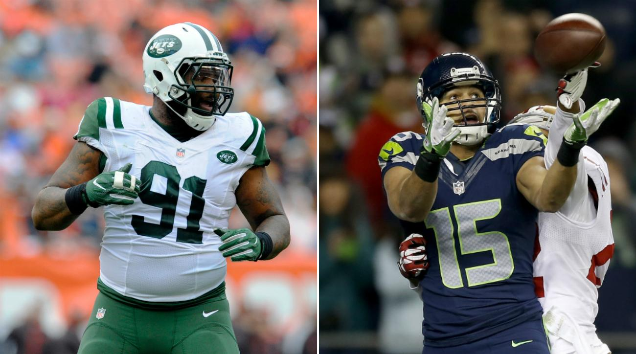 Seahawks Jets trade Sheldon Richardson Jermaine Kearse