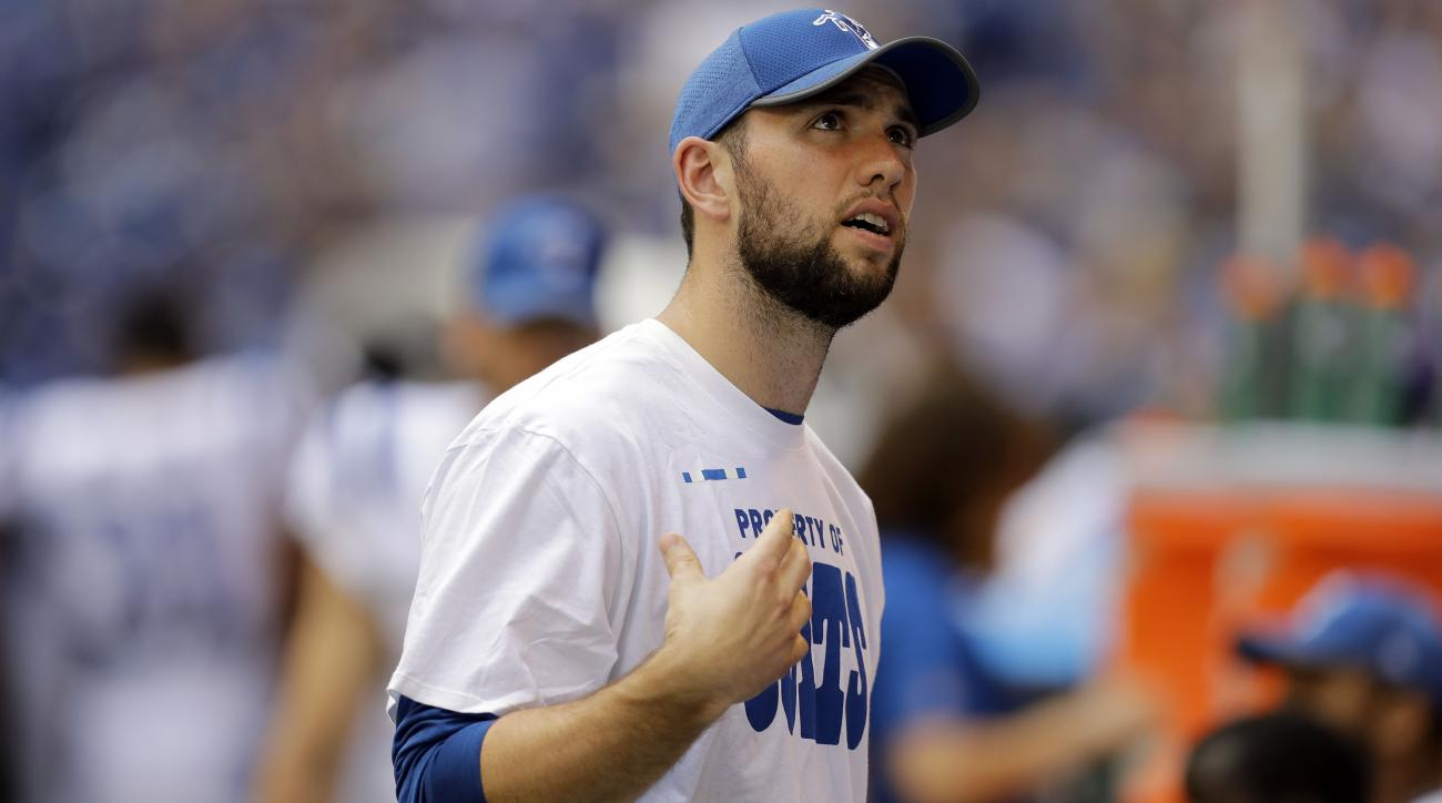 Andrew Luck Activated Off of PUP List