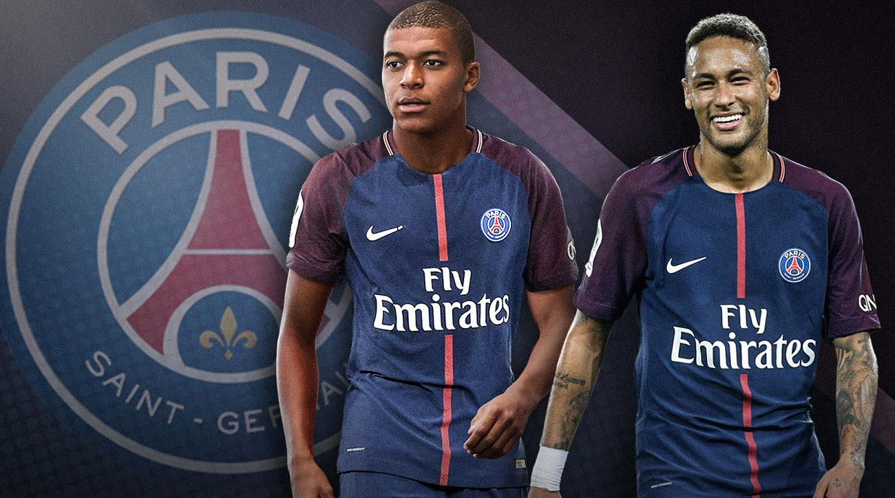 Psg With Neymar Kylian Mbappe Signed Can Club Conquer Europe