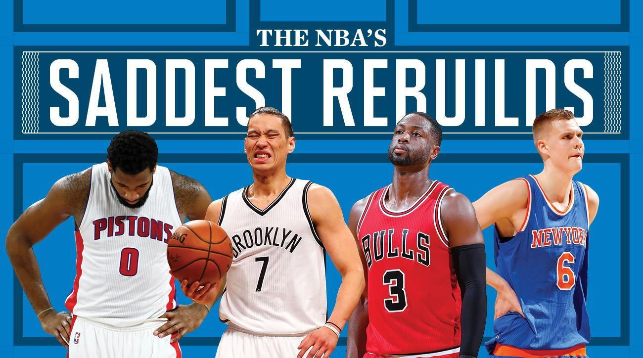 NBA's rebuilding teams