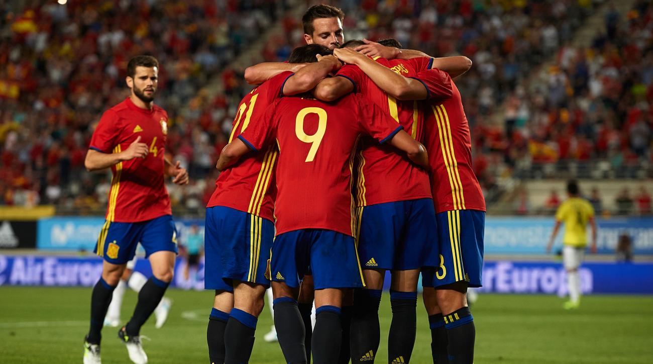 Espanha esta praticamente apurada