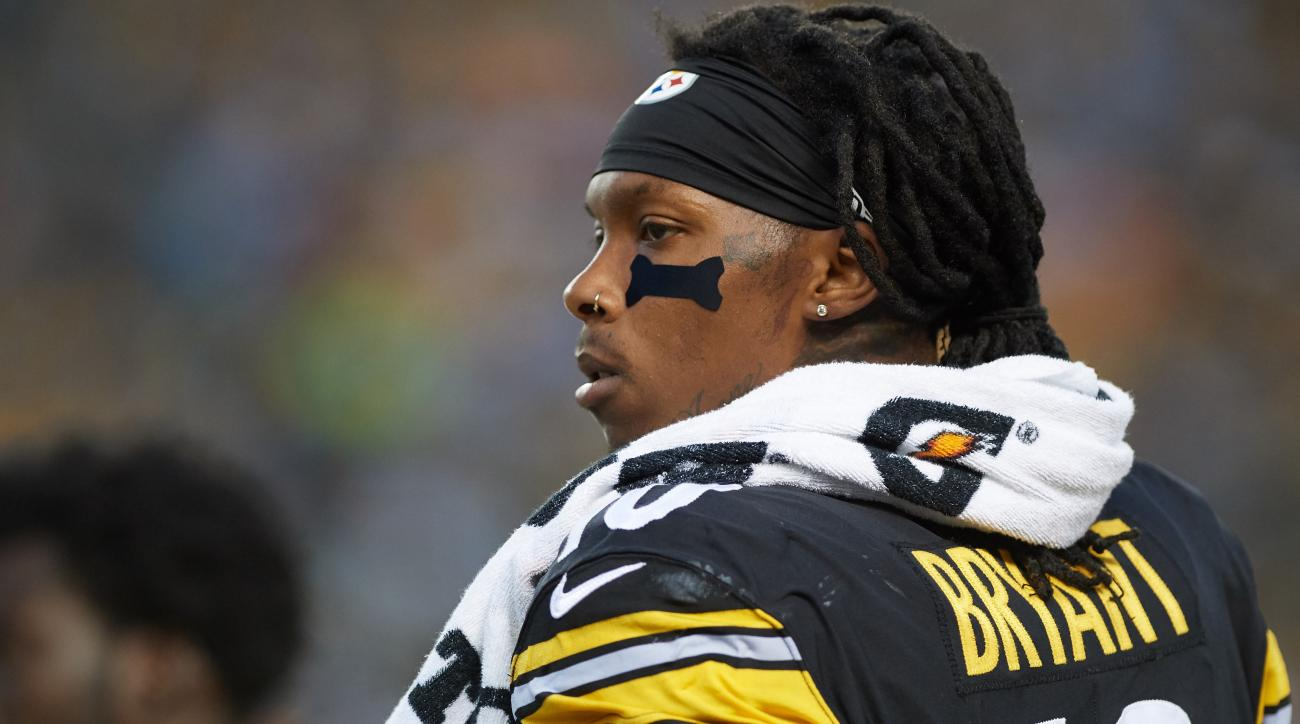 Steelers receiver Bryant cleared for regular season by NFL