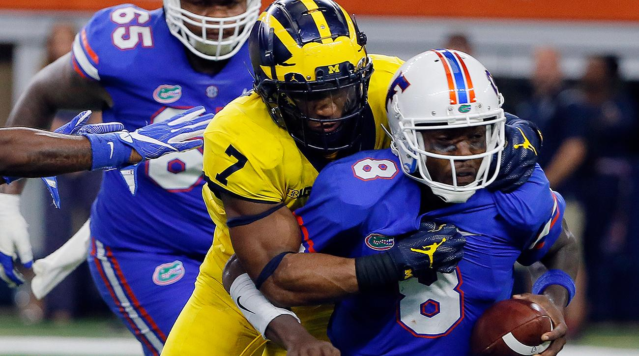 Michigan Wolverines rally past Florida Gators in opener