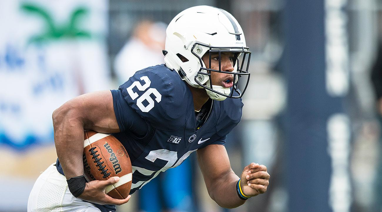 Barkley, Thompkins key Penn State romp