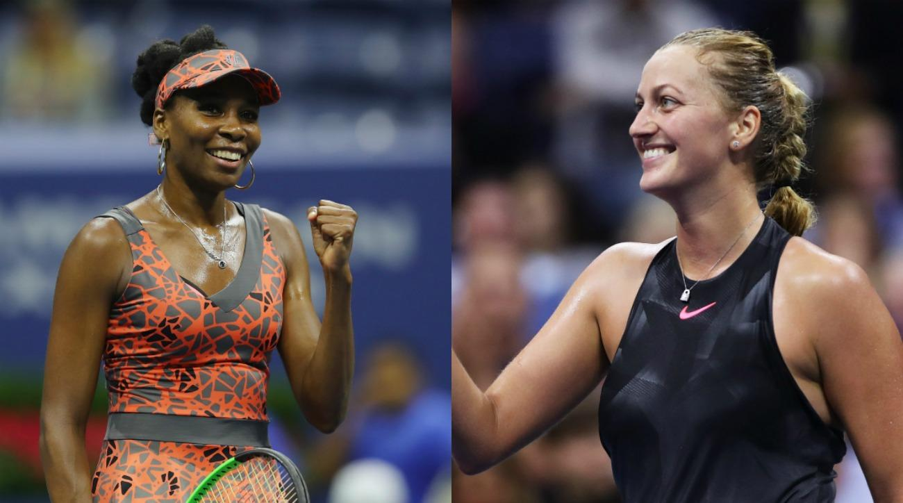 US Open: Petra Kvitova tops Garbine Muguruza, reaches quarters