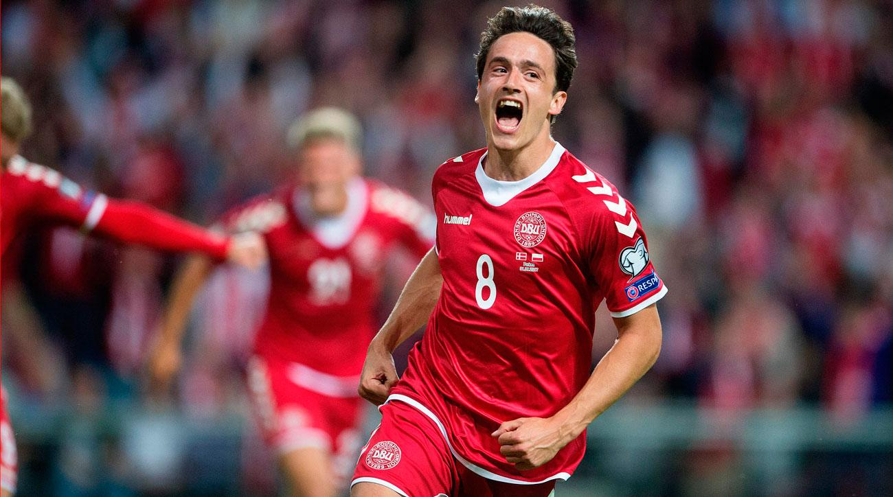 Denmark wins in World Cup qualifying