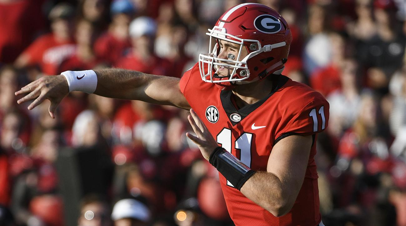 Georgia quarterback dating model