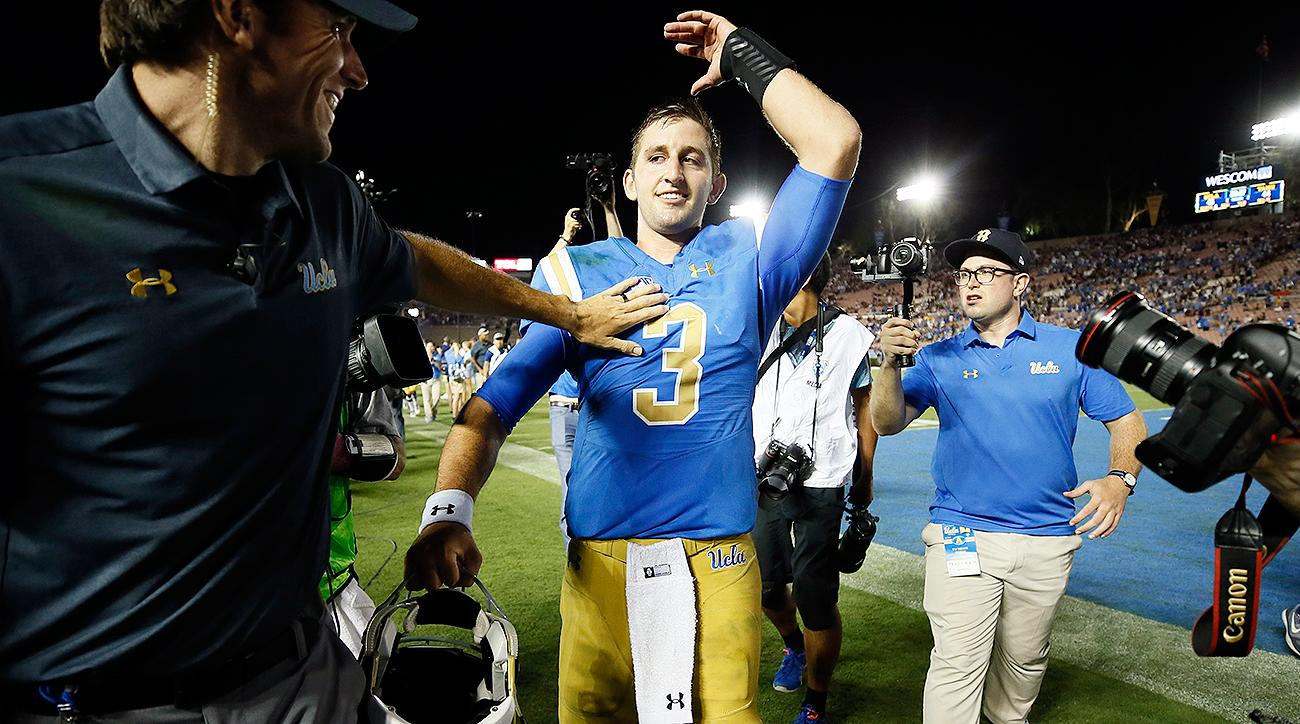 Josh Rosen: UCLA QB leads historic comeback over Texas A&M, sets NFL draft buzz wild