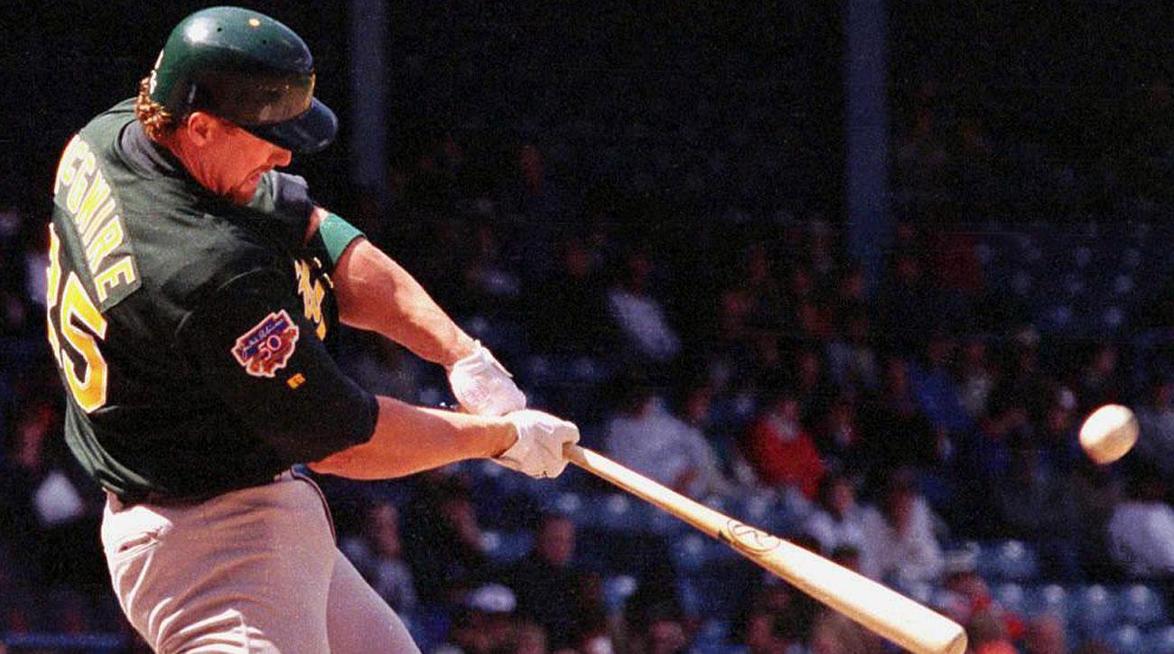 Mark McGwire, Oakland Athletics